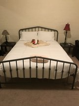 Queen Bed frame and mattress in 29 Palms, California