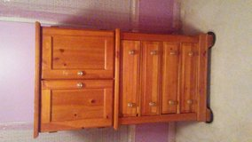 Basset solid wood dresser with mirror and armoir in Quantico, Virginia
