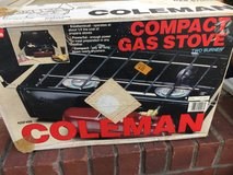 Coleman portable camping propane grill in Fort Campbell, Kentucky