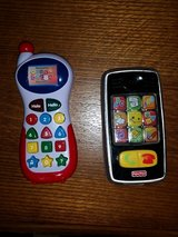 2 Electronic Toy Phones for Toddlers in Houston, Texas