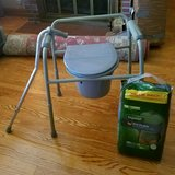 Nova 3-1 Commode, Depends & Cane in Lockport, Illinois