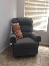 Teal Suede Recliner in Las Vegas, Nevada