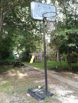Basketball goal in DeRidder, Louisiana