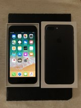 iPhone 7 Plus 256gb - black - unlocked in Lakenheath, UK
