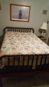 Jenny Lind Bed/Full size in Kingwood, Texas