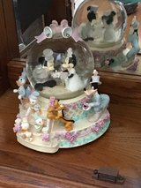 Mickey and Minnie wedding snowglobe in Westmont, Illinois