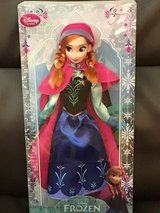 Disney Frozen collectible Anna doll in Joliet, Illinois