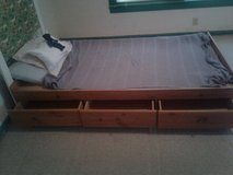 Single bed in Fort Polk, Louisiana