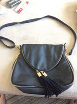 Black purse crossbody never used in Ramstein, Germany