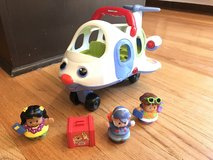Fisher-price Little people lil' movers airplane in Bolingbrook, Illinois