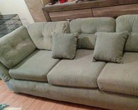 Pale Green 3-Seat Sofa in Fort Knox, Kentucky