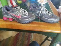 Womens size 9 Nike Shox in Fort Riley, Kansas