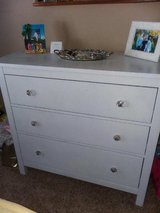WHITE CHEST OF DRAWERS in Oswego, Illinois