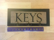 """KEYS"" Wall Hanging / Holder / Rack - Like new! in Chicago, Illinois"