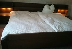 Complete set of king size bed in Baumholder, GE
