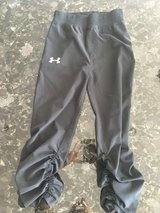 Boys size 5 ruched under armor pant in Oswego, Illinois