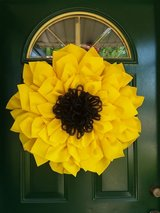 Sunflower Wreath in Naperville, Illinois