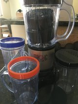 Magic Bullet blender with cups in Yucca Valley, California