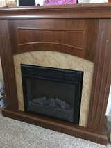 Electric fireplace in Yucca Valley, California