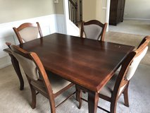 MOVING!- Dining Table & Four Chairs in Chicago, Illinois