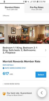 Marriott Timber Lodge Hotel, 11-17 Aug in Vacaville, California