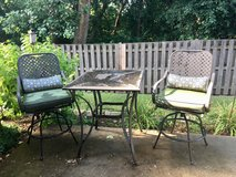 Patio table and chairs in DeKalb, Illinois