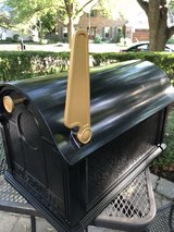 : ) LARGE Black Metal Mailbox by Whitehall Company. New!!! in Batavia, Illinois