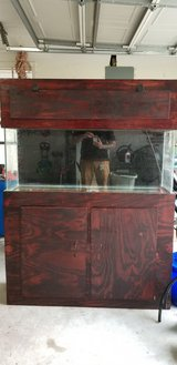 55G Aquarium with Stand & Canopy in Lake Charles, Louisiana