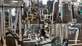 Gym fitness weights machines package in Camp Pendleton, California