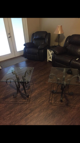 Two Matching End Tables in Warner Robins, Georgia