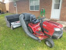 Riding Lawn Mower/Bager & Sweeper in Perry, Georgia