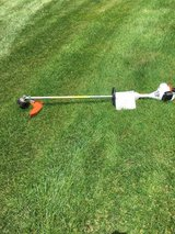 STIHL FS55R WEED WHIP STRAIGHT SHAFT AND STIHL BG56C GAS BLOWER READY TO WORK in Sandwich, Illinois