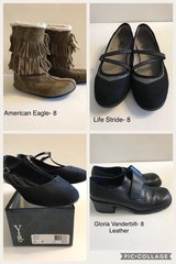 Lot 1- Women's Shoes Size 8 in Naperville, Illinois