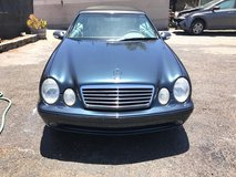 2002 Mercedes CLK 430 Convertible; 96,000 Original Miles in Camp Pendleton, California