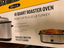 brand New Bella 18 Quart Roaster Oven in Fairfield, California