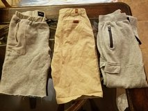 Boys 7 for all Mankind/Hudson shorts & sweats in Travis AFB, California