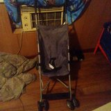 Grey stroller in Fort Leonard Wood, Missouri