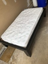 TODDLER BED and Crib size matress in Naperville, Illinois