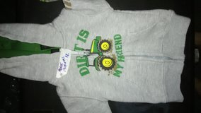 Baby John Deere jacket size 18 months in Fort Leonard Wood, Missouri