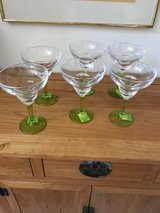 Indoor /outdoor Acrylic Margarita glasses, new with tags in Naperville, Illinois