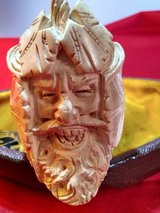 Meershaum pipe with crazy face in Alamogordo, New Mexico