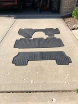 Honda odyssey 4th generation (2001-2017) OEM Honda rubber weather resistant floor mats. Full set... in Naperville, Illinois