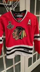 NHL kids Blackhawks Jersey in Shorewood, Illinois