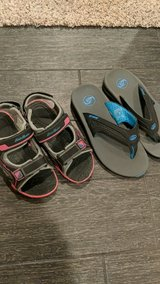 kid's shoes and flip flops. in Oswego, Illinois