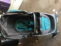 Chicco Bravo Stroller Teal in Lockport, Illinois