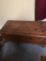 Small cedar chest excellent condition 17 inches tall 19 inches deep41 inches long in Conroe, Texas