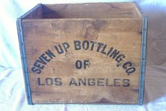 Vintage Wooden 7-UP Crate in 29 Palms, California