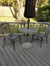 Patio Bistro Table & Chairs in Kingwood, Texas