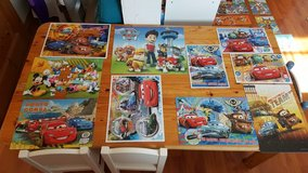 puzzles and posters in Grafenwoehr, GE