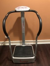 Sunny Health & Fitness Vibration Trainer with Handlebars in Glendale Heights, Illinois